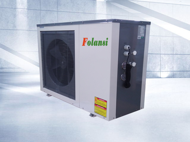 DC Inverter Heat Pump with 11kw heating capacity